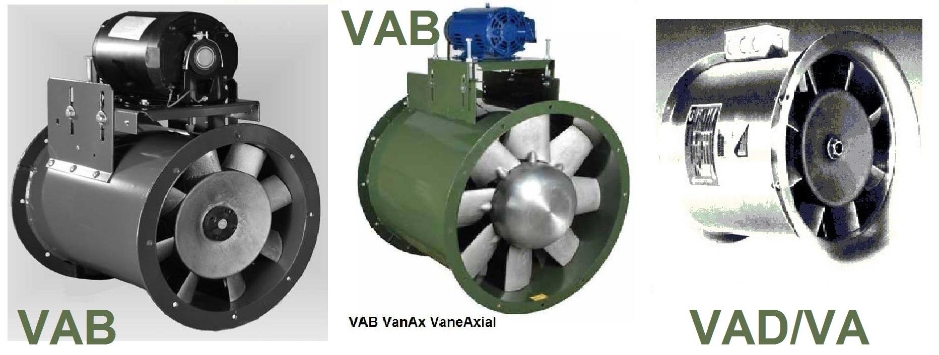 Vane Axial Fan : Vab vanax vaneaxial fan